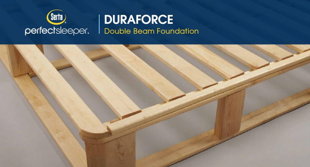 Duraforce Double Beam Foundation